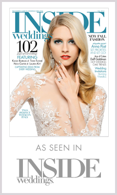 As Seen In Inside Weddings 2014